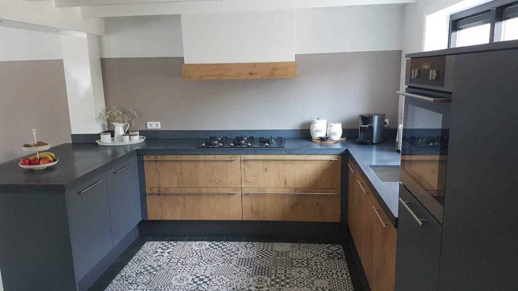 Keukenblad van beton