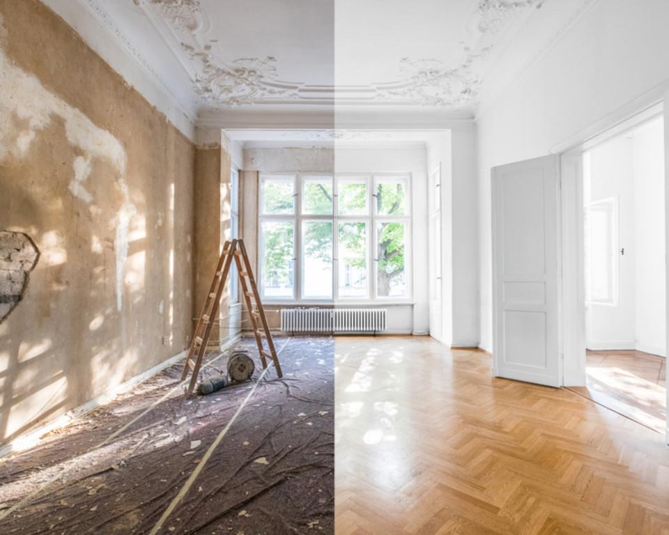 Oude vloer renoveren met schuimbeton